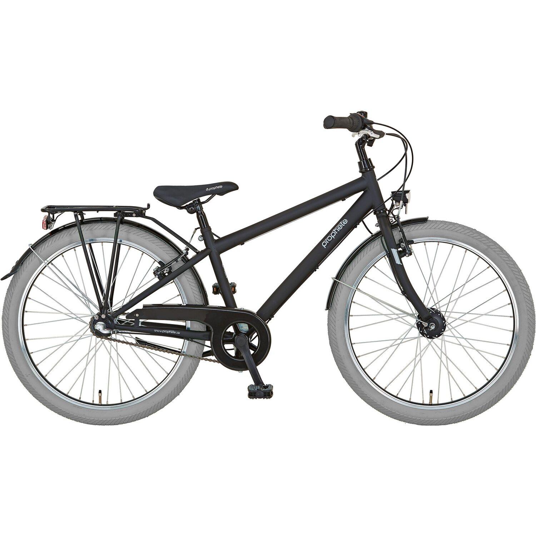 Prophete Dirt-Bike Kinderfahrrad 24 Cool to School Einsteiger 9.1 Jungen   Kinderzimmer > Spielzeuge > Kinderfahrräder   Schwarz   Prophete