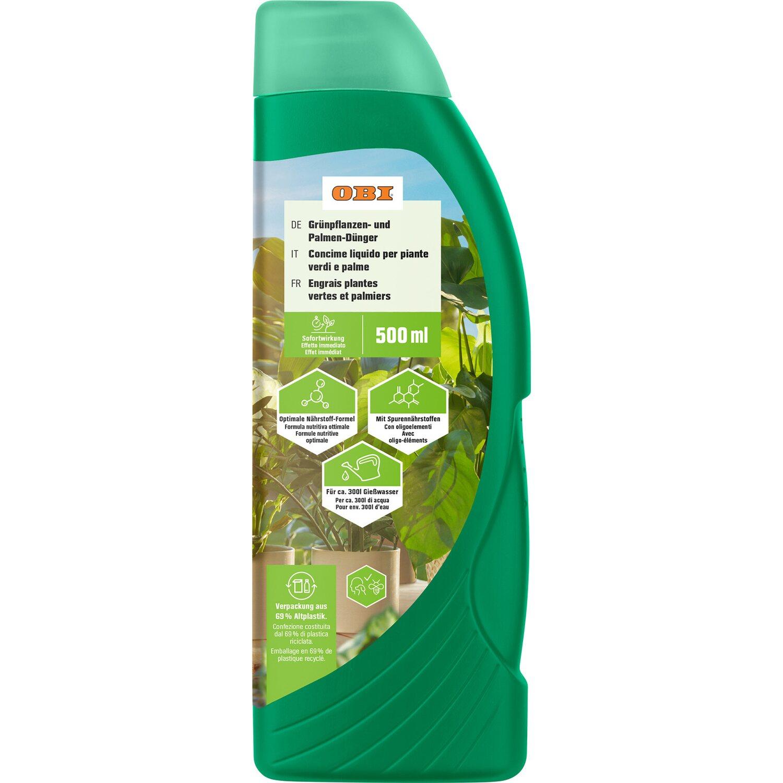 OBI Grünpflanzen- und Palmen-Dünger 500 ml   Garten > Pflanzen > Dünger   OBI Living Garden