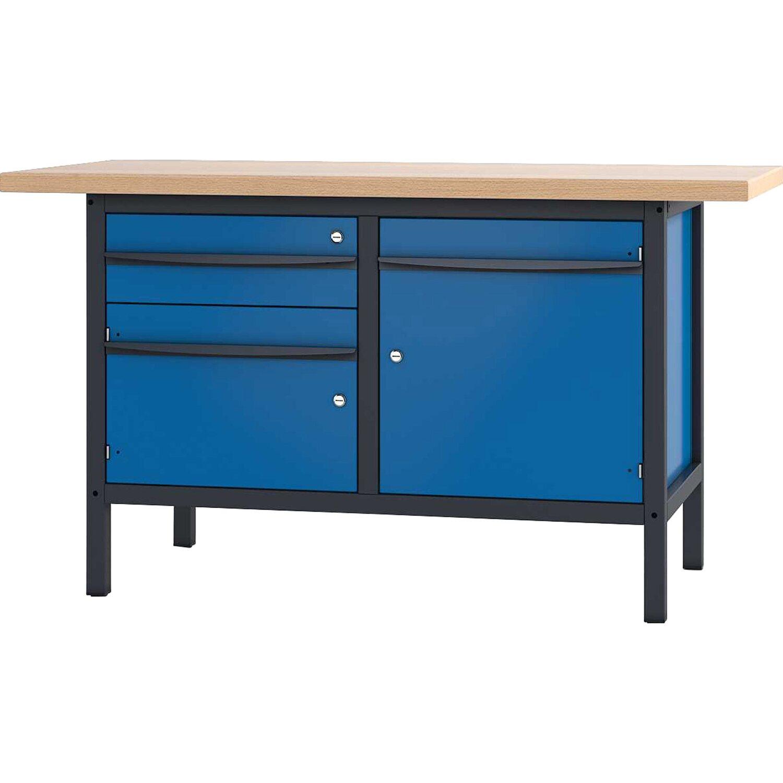 Pador Werkbank 2 Türen 1 Schublade 150 cm kaufen bei OBI