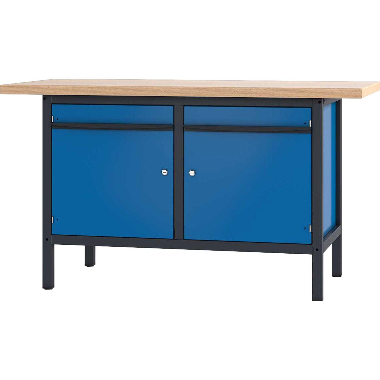 pador werkbank 2 t ren 200 cm kaufen bei obi. Black Bedroom Furniture Sets. Home Design Ideas