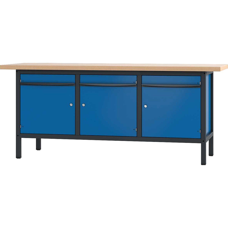 pador werkbank 3 t ren 200 cm kaufen bei obi. Black Bedroom Furniture Sets. Home Design Ideas