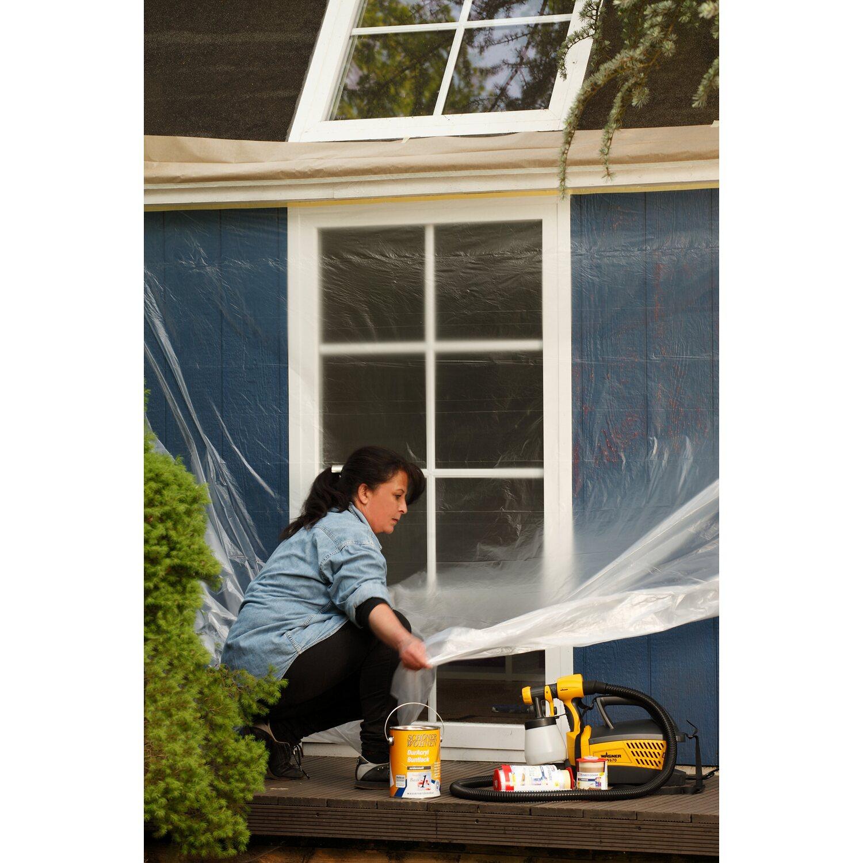 tesa easy cover premium abdeckfolie mit malerband 33 m x 1 4 m kaufen bei obi. Black Bedroom Furniture Sets. Home Design Ideas