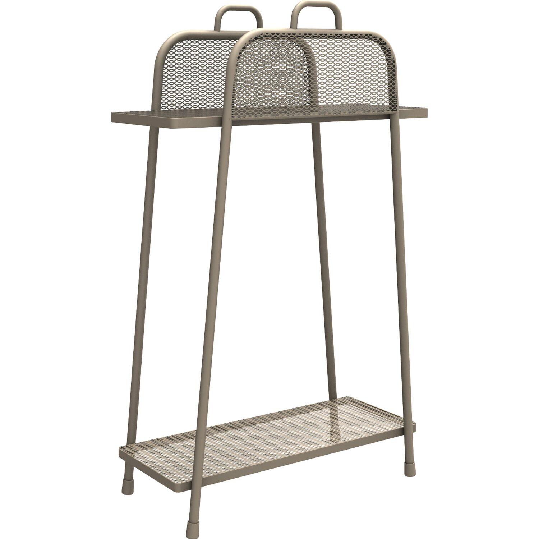 mwh balkonregal shelfo 105 5 cm x 65 5 cm x 27 cm peyote. Black Bedroom Furniture Sets. Home Design Ideas