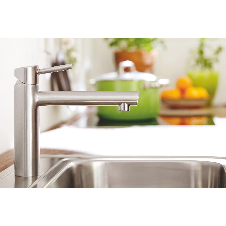 Grohe Einhand-Küchenarmatur Concetto Supersteel kaufen bei OBI