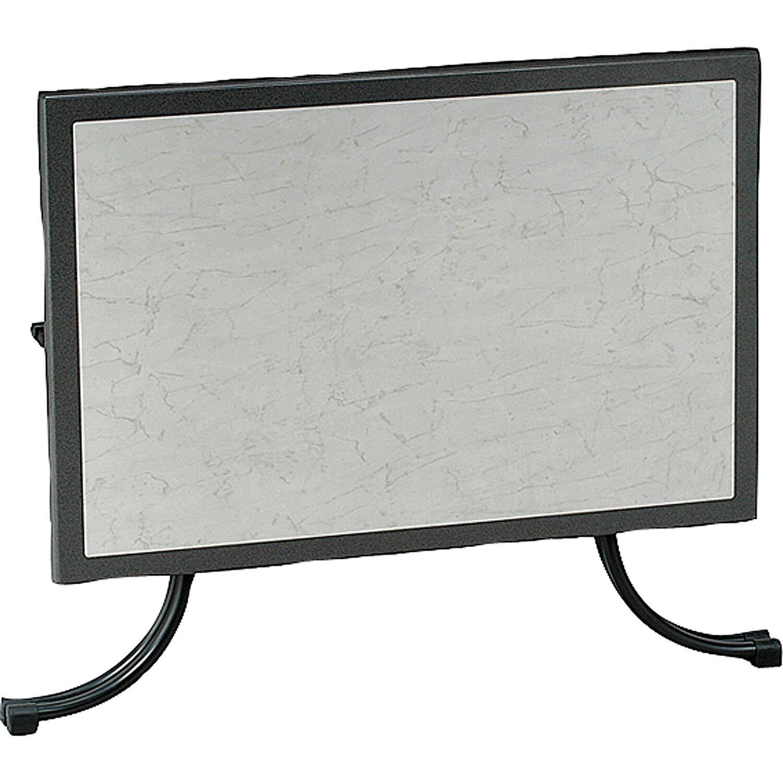 Tisch boulevard rechteckig 120 cm x 80 cm anthrazit kaufen for Planschbecken rechteckig obi