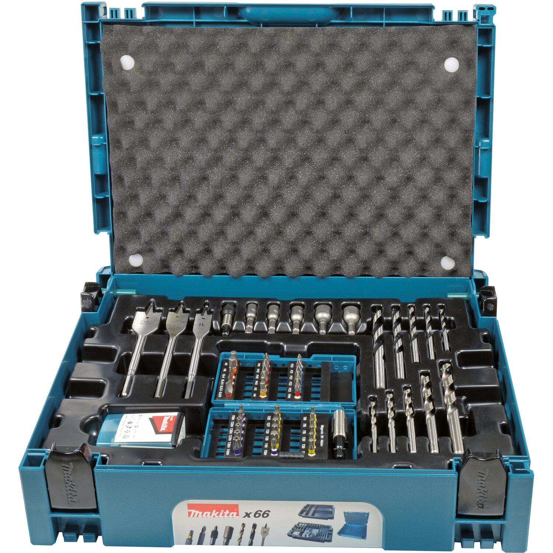 Makita Bohrer-Bit-Set B-43044 MAKPAC 66-teilig | Baumarkt > Werkzeug > Werkzeug-Sets | Makita