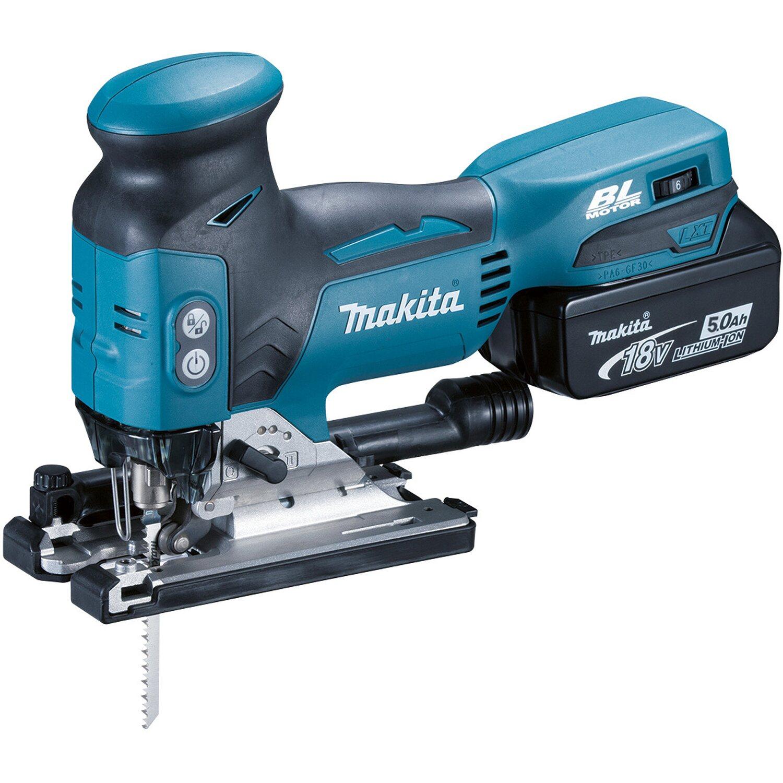 Makita Akku-Pendelhubstichsäge DJV181RT1J mit 18 V | Baumarkt > Werkzeug > Sägen | Makita