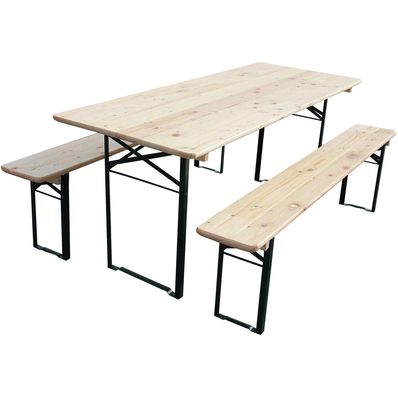 Bierzelt Garnitur Mit 70 Cm Breitem Tisch