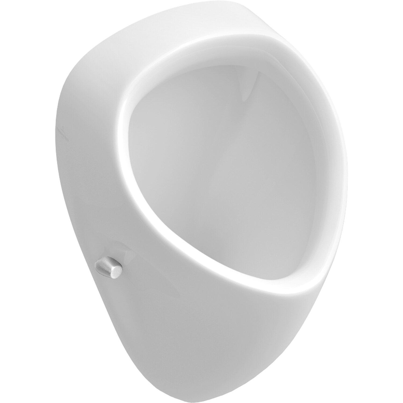 Villeroy /& Boch O.Novo Urinal Set Grohe CeramicPlus Surf weiß Pissuar