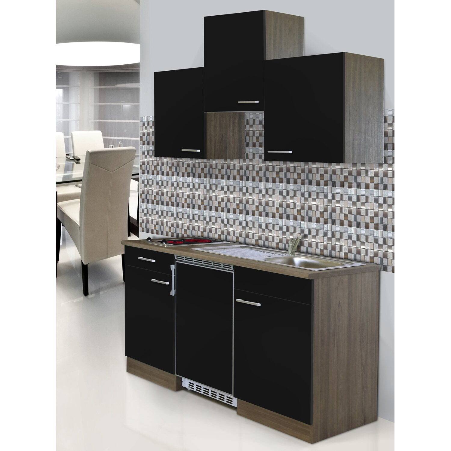 minikche bauhaus design khlschrank khlschrank prestige kpril khlschrnke von v zug architonic. Black Bedroom Furniture Sets. Home Design Ideas
