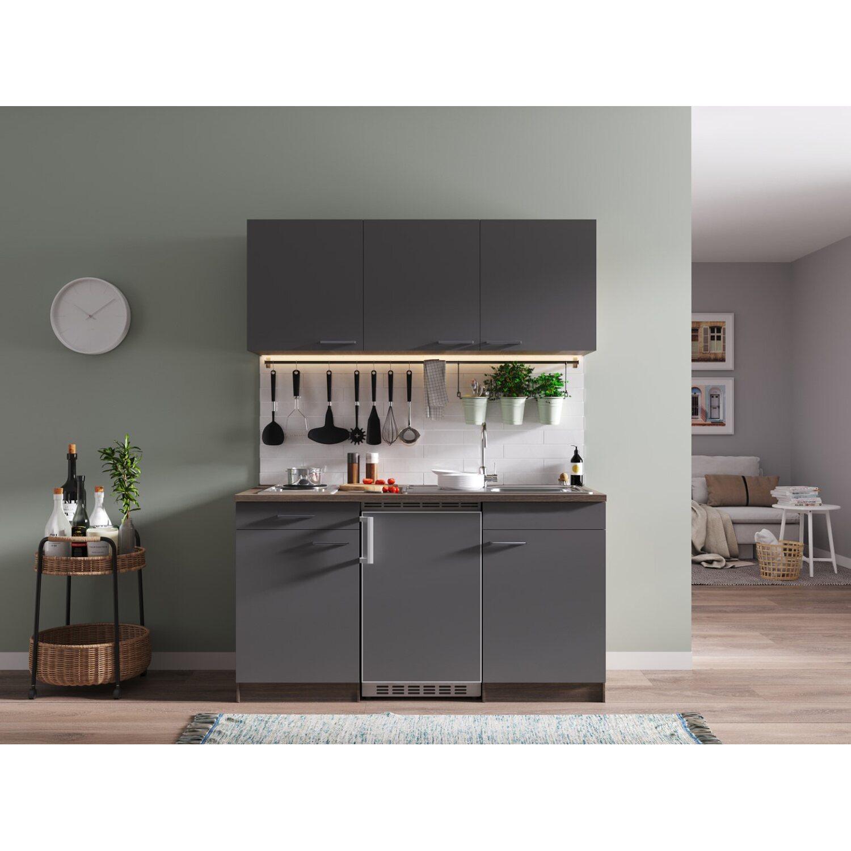 einbauk chenzeile. Black Bedroom Furniture Sets. Home Design Ideas