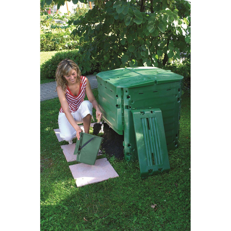 komposter thermo king 600 l gr n kaufen bei obi. Black Bedroom Furniture Sets. Home Design Ideas