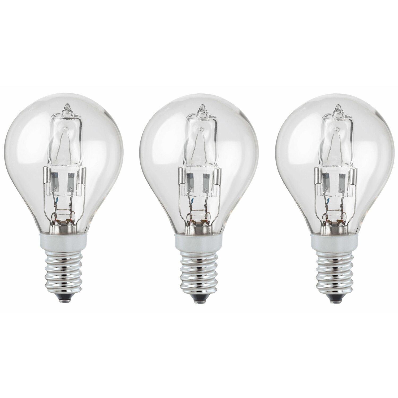 CMI  Halogenlampe EEK: D Glühlampenform E14 / 18 W (205 lm) Warmweiß 3er-Pack