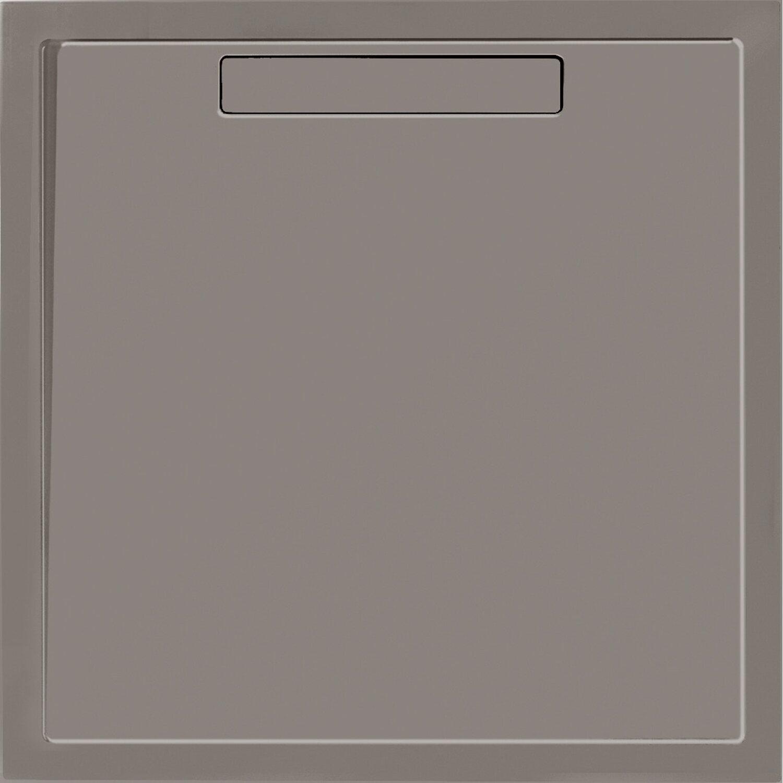 Villeroy & Boch Rechteck-Duschwanne Squaro 100 cm x 100 cm x 1,8 cm Grau | Bad > Duschen > Duschwannen | Villeroy & Boch