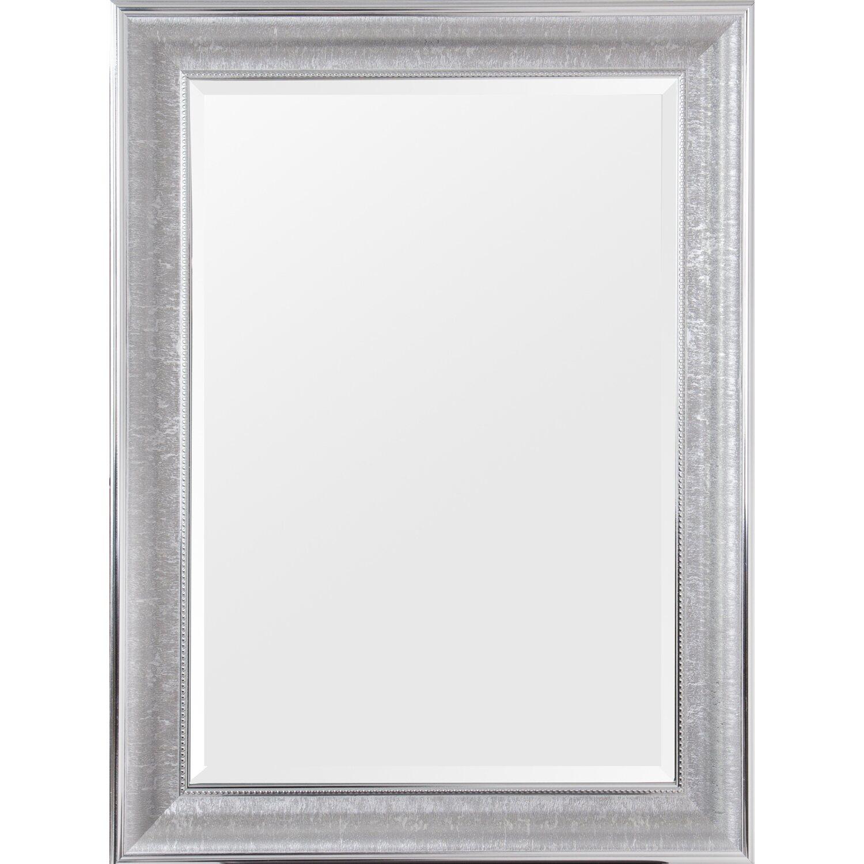 Rahmenspiegel Tabea ca. 60 cm x 80 cm Chromfarben | Flur & Diele > Spiegel > Wandspiegel