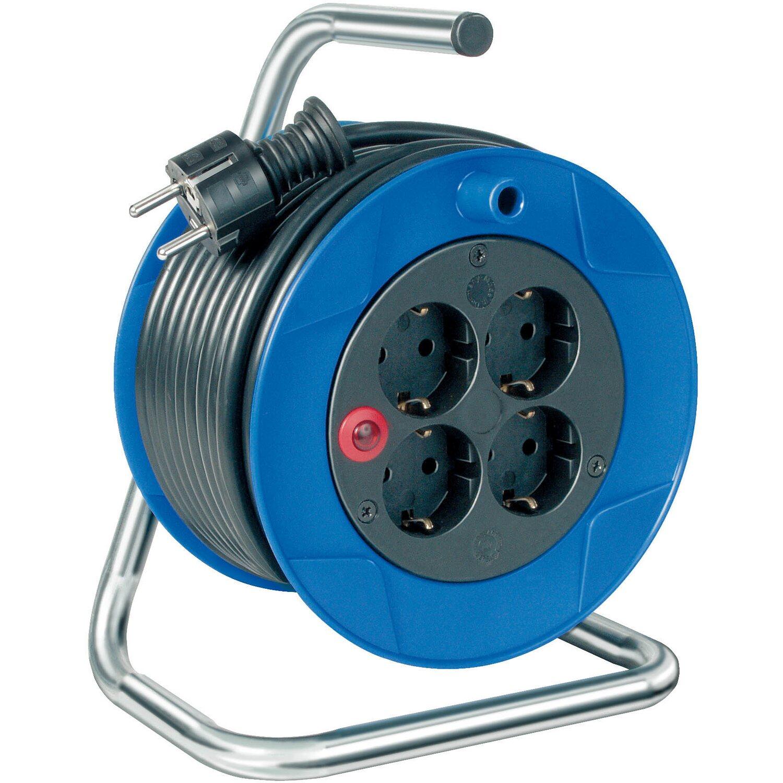 Garant Kabeltrommel H05VV-F 3G1,5 Blau-Schwarz 15 m | Baumarkt > Elektroinstallation > Verlängerungskabel