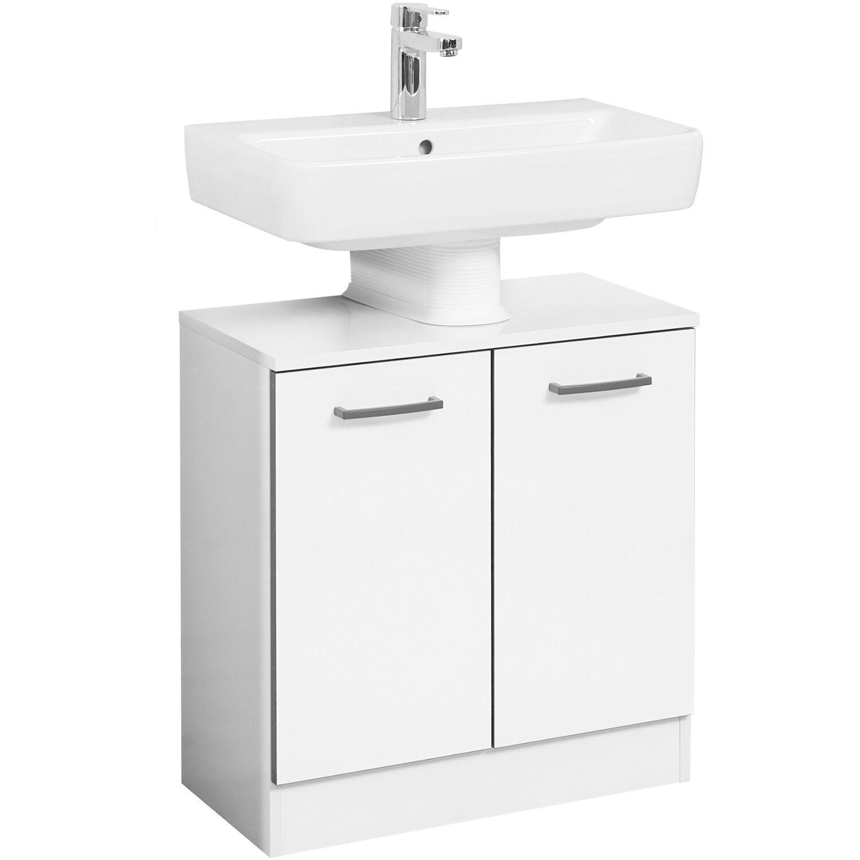 Pelipal Waschbeckenunterschrank 60 Cm Schwerin Weiss Hochglanz Kaufen