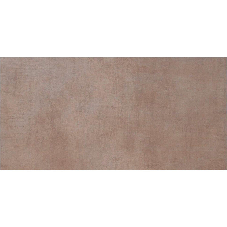 Sonstige Feinsteinzeug Cement Braun Matt 30 cm x 60 cm
