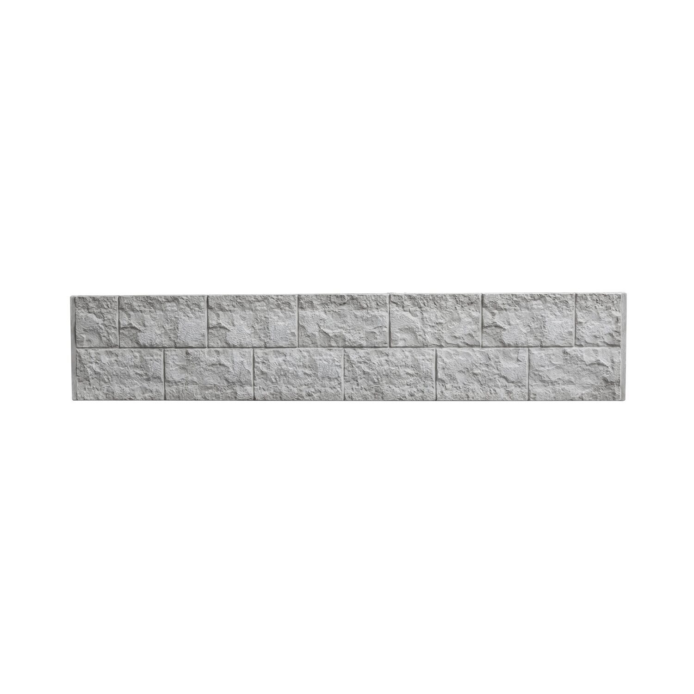 Betonzaun Hornbach betonzaun platte casa borsika 200 cm x 38 5 cm x 3 cm kaufen bei obi