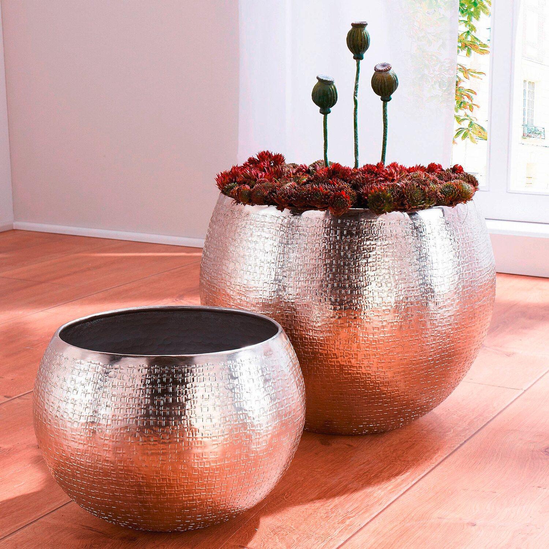 best of home bertopf set 30 cm und 40 cm silber 2 teilig kaufen bei obi. Black Bedroom Furniture Sets. Home Design Ideas