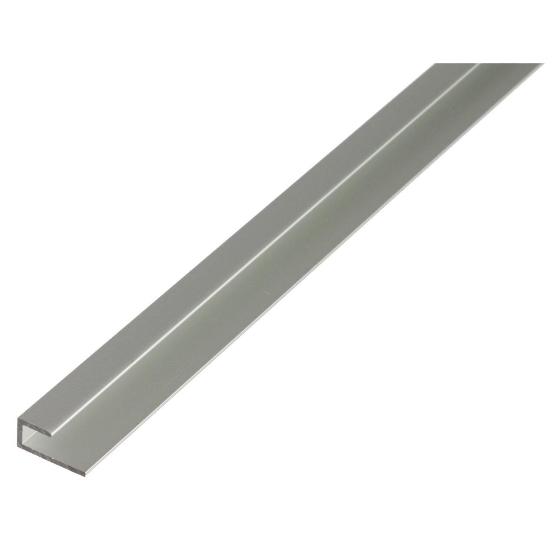 Sonstige Abschlussprofil Silber eloxiert selbstklemmend 9 mm x 20 mm x 1000 mm