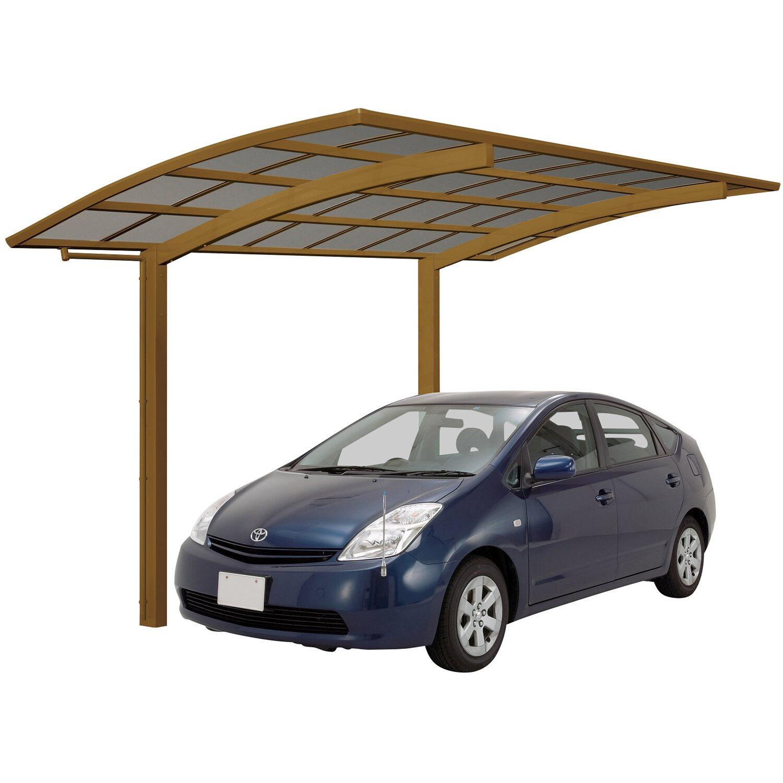 Ximax Alu Einzelcarport Portoforte Typ 60 Bronze XS 241 x 556 cm Sonderfertigung | Baumarkt > Garagen und Carports > Carports | Ximax