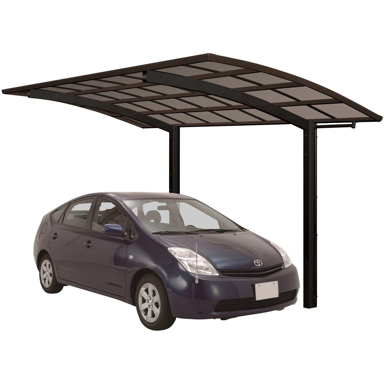 Ximax Alu Einzelcarport Portoforte Typ 60 Schwarz XL 301 x 556cm Sonderfertigung | Baumarkt > Garagen und Carports > Carports | Schwarz | Aluminium - Polycarbonat - Samt | Ximax