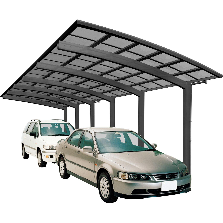 Ximax Alu Carport PortoforteTandem Typ 110 Schwarz 270 x 983 cm Sonderfertigung | Baumarkt > Garagen und Carports > Carports | Ximax