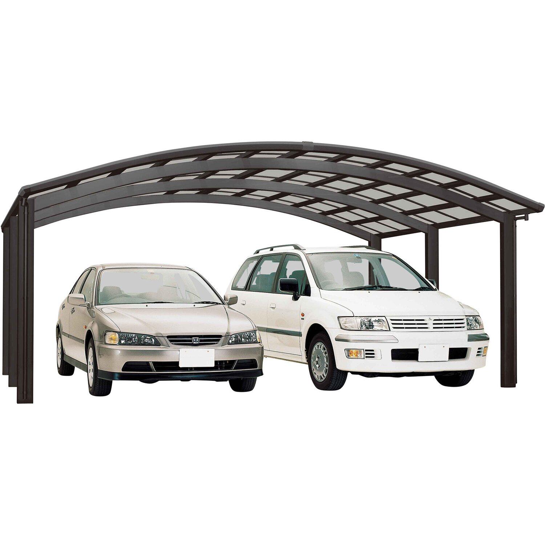 Ximax Alu Doppelcarport Portoforte Typ 110 Schwarz 542 x 495 cm Sonderfertigung | Baumarkt > Garagen und Carports > Carports | Ximax