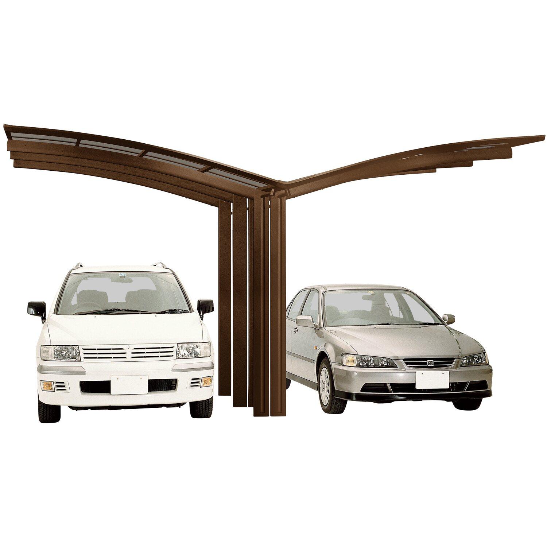 Ximax Alu Doppelcarport Portoforte Typ 110 Bronze 543 x 495 cm Sonderfertigung   Baumarkt > Garagen und Carports   Ximax