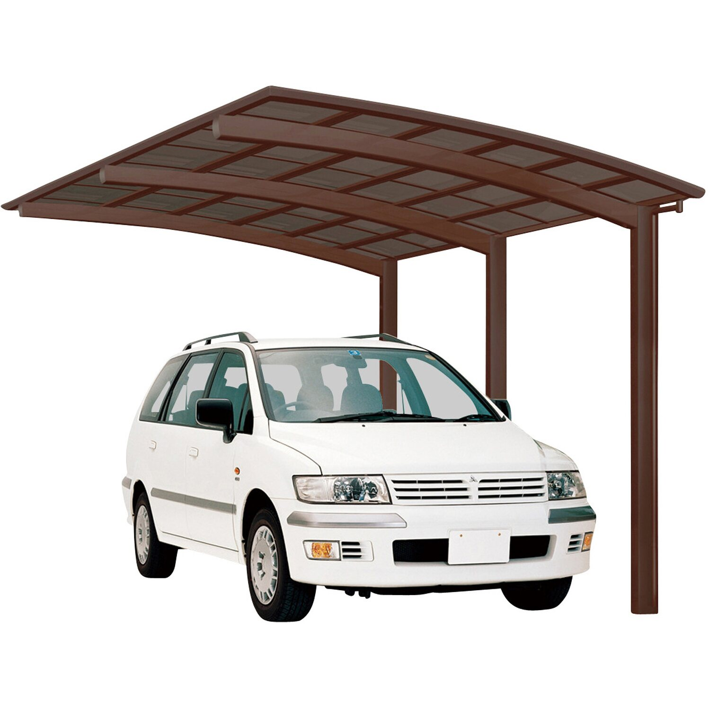 Ximax Alu Carport Portoforte Typ 170 Mattbraun XS 241 x 495 cm Sonderfertigung | Baumarkt > Garagen und Carports > Carports | Ximax