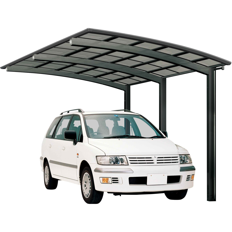 Ximax Alu Carport Portoforte Typ 170 Schwarz XS 241 x 556 cm Sonderfertigung | Baumarkt > Garagen und Carports > Carports | Schwarz | Aluminium - Polycarbonat - Samt | Ximax