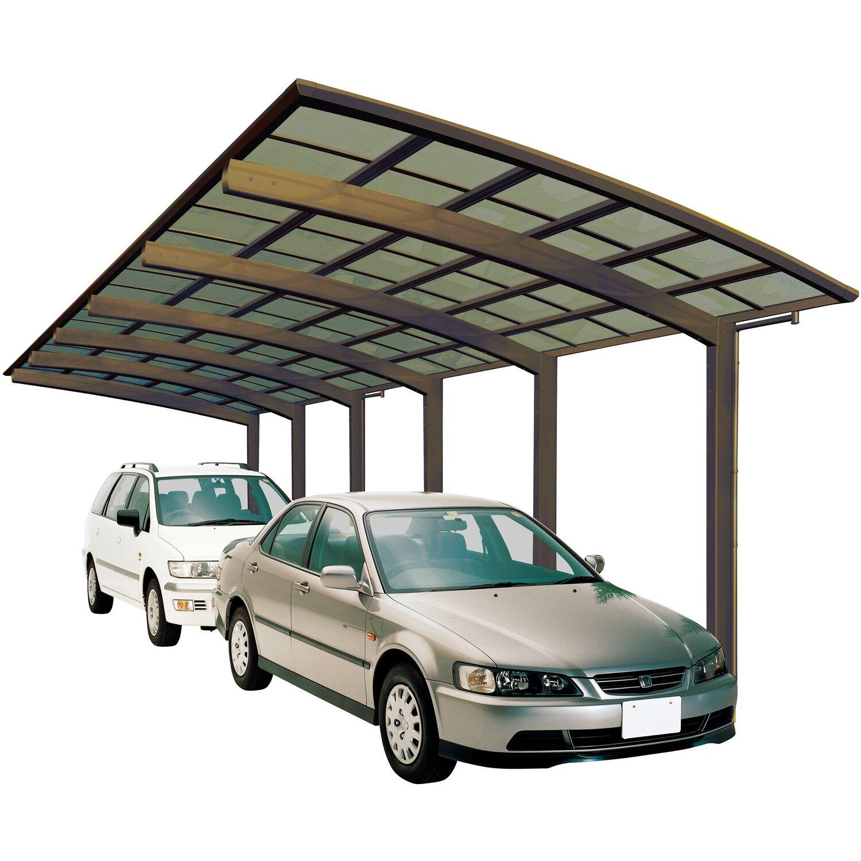 Ximax Alu Carport Portoforte Tandem Typ 170 Bronze 270 x 983 cm Sonderfertigung | Baumarkt > Garagen und Carports > Carports | Ximax