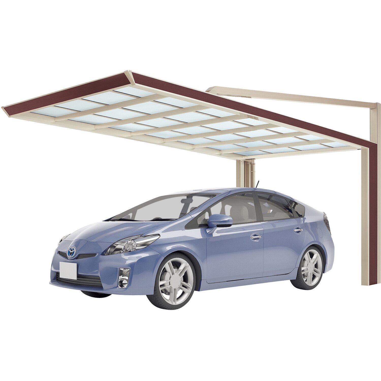 Ximax Carport My-Port Next Typ 2659 Typ 60 Sepiabraun 263x590 cm Sonderfertigung | Baumarkt > Garagen und Carports > Carports | Ximax