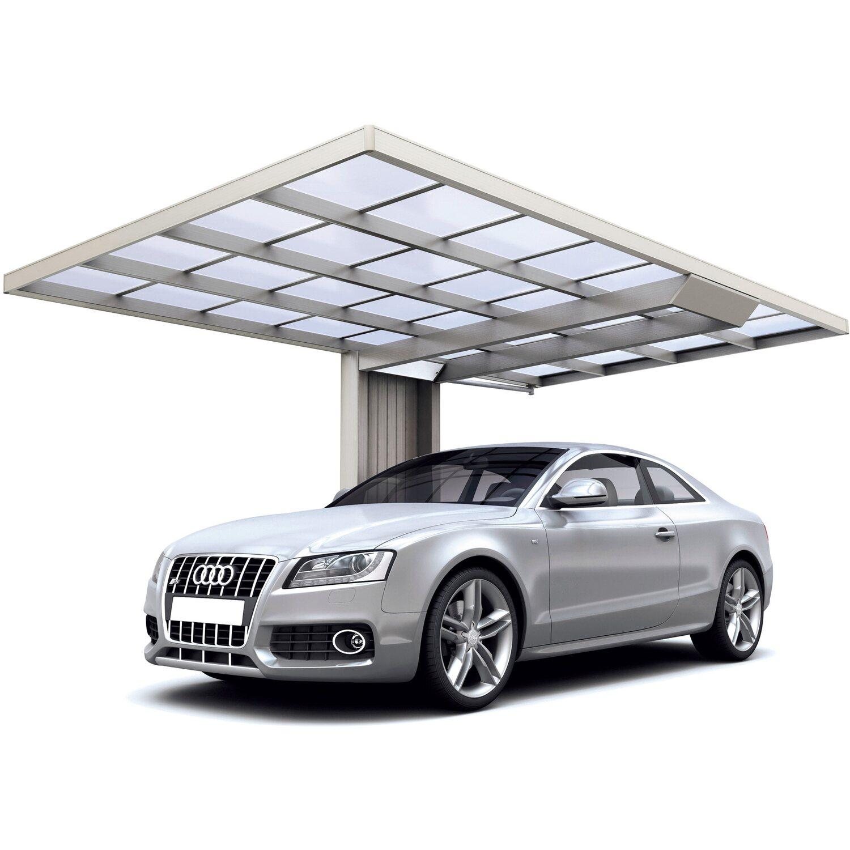 Ximax Carport Neo Typ 2856 Typ 90 Edelstahl-Look  276 x 555 cm Sonderfertigung | Baumarkt > Garagen und Carports | Ximax