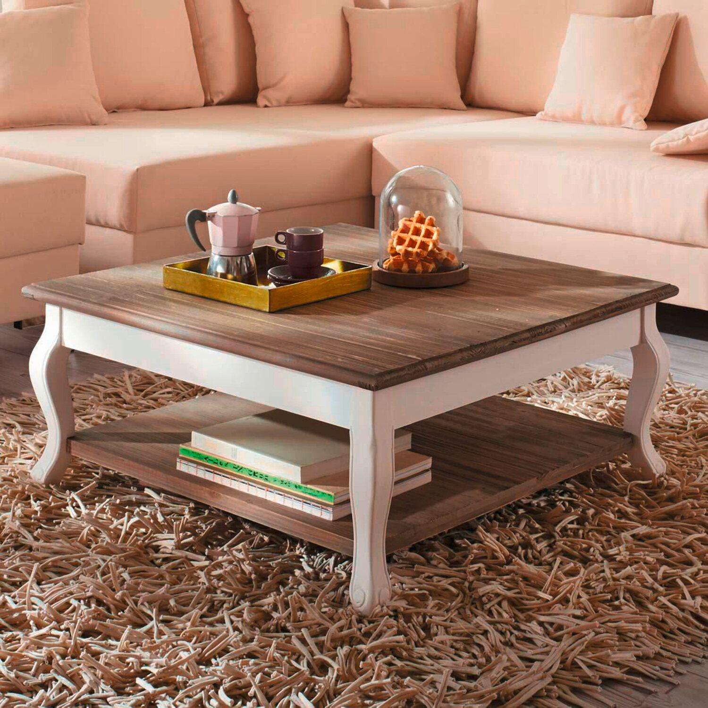 best of home couchtisch landhaus wei natur kaufen bei obi. Black Bedroom Furniture Sets. Home Design Ideas