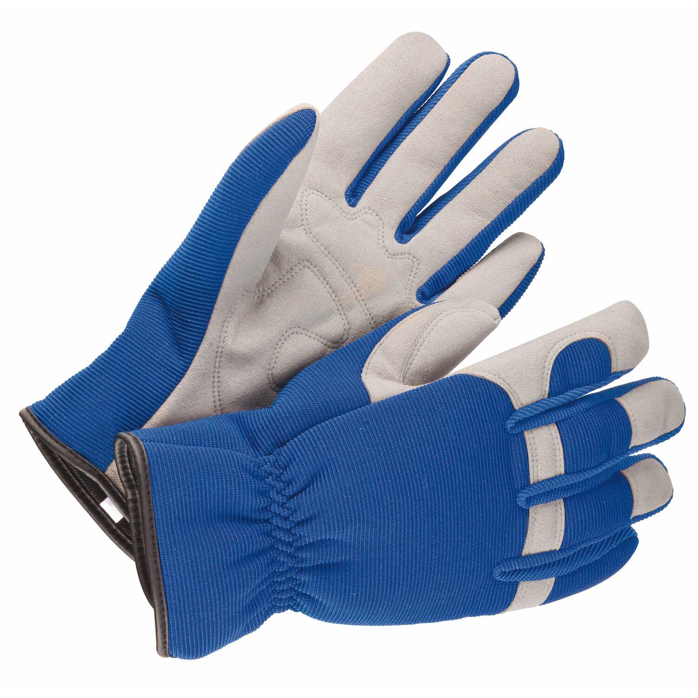 Gartenhandschuh Blau Größe 10