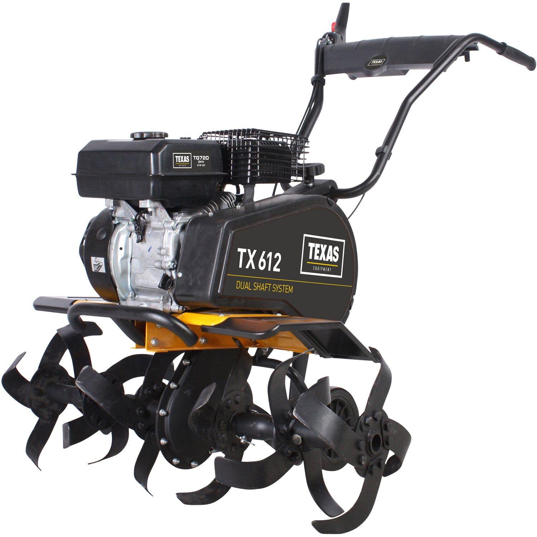 Texas Benzin-Motorhacke TX612TG Dual-Shaft