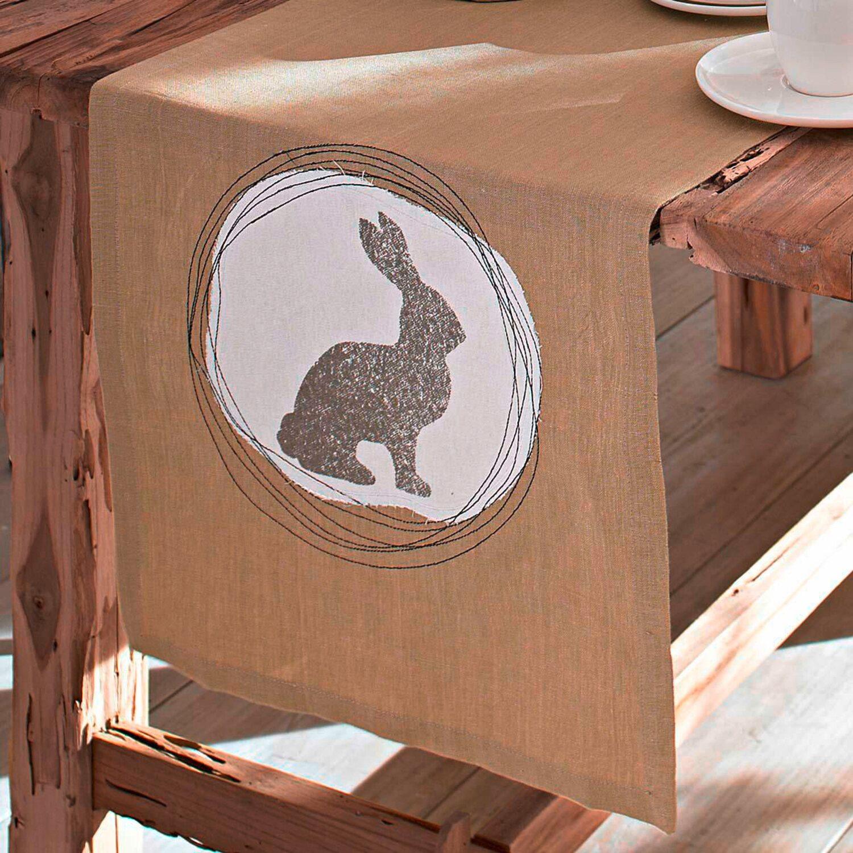 best of home tischl ufer osterhase 45 cm x 250 cm kaufen bei obi. Black Bedroom Furniture Sets. Home Design Ideas