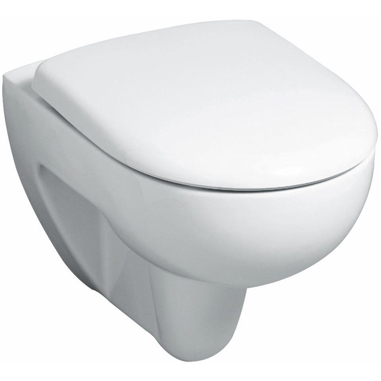 Geberit Wand-WC Renova Tiefspüler Rimfree Weiß KeraTect®