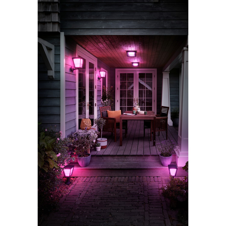 Philips Hue White & Color Ambiance Econic LED Wandleuchte quadratisch EEK: A
