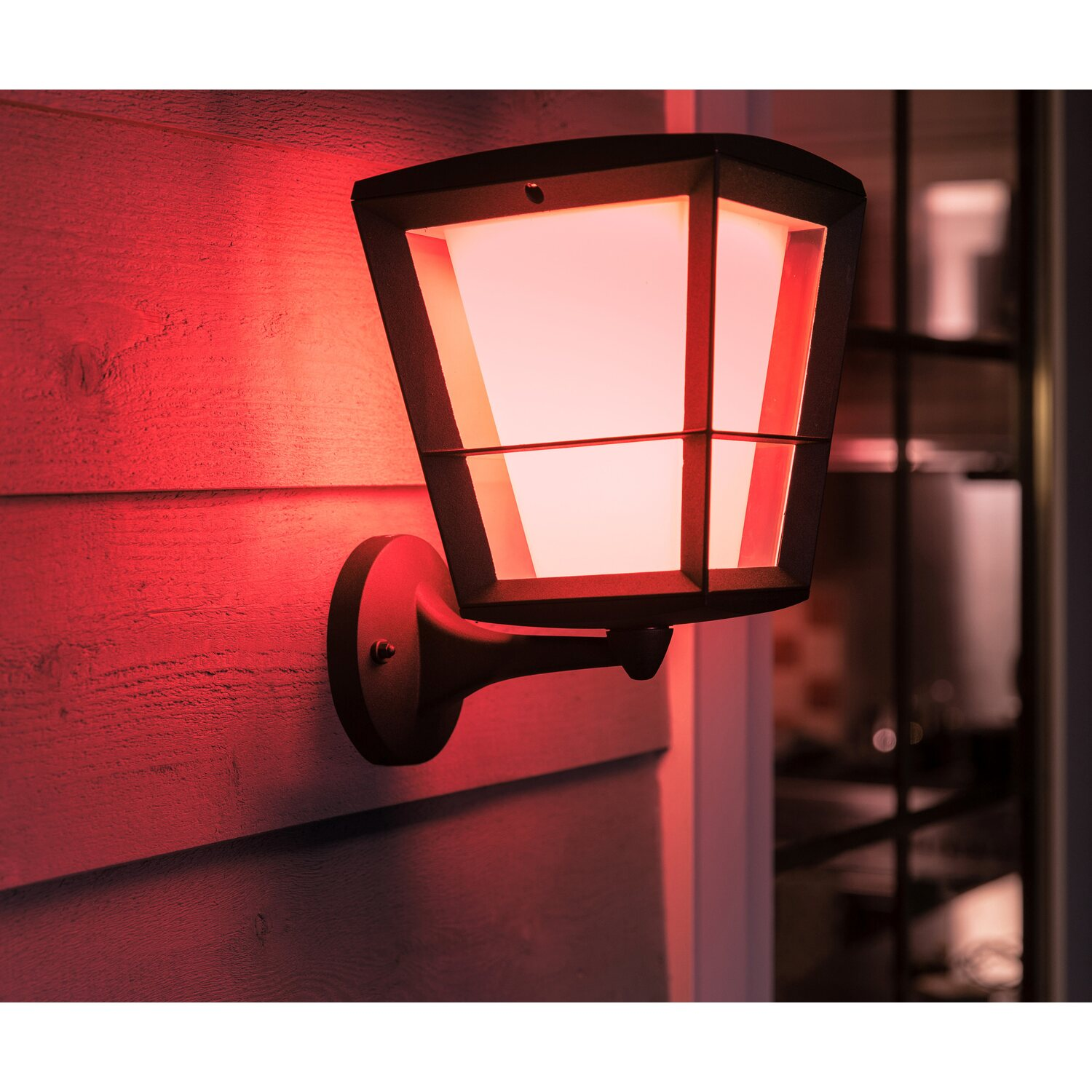 Philips Hue White & Color Amb. Econic LED-Laternenleuchte stehend EEK: A