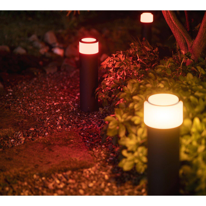 Philips Hue White & Color Ambiance Calla LED-Sockelleuchte Erweiterung EEK: A   Lampen > Aussenlampen > Sockelleuchten   Philips Hue