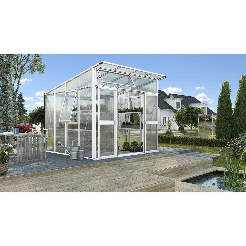 Vitavia Gewächshaus Aphrodite 7800 HKP 10 mm Weiß | Garten > Gewächshäuser | Vitavia