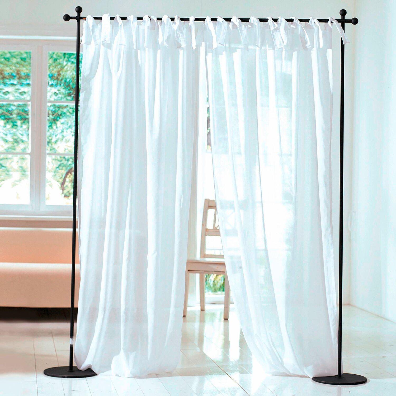 best of home schlaufenschal voile 2er set wei 140 cm x. Black Bedroom Furniture Sets. Home Design Ideas