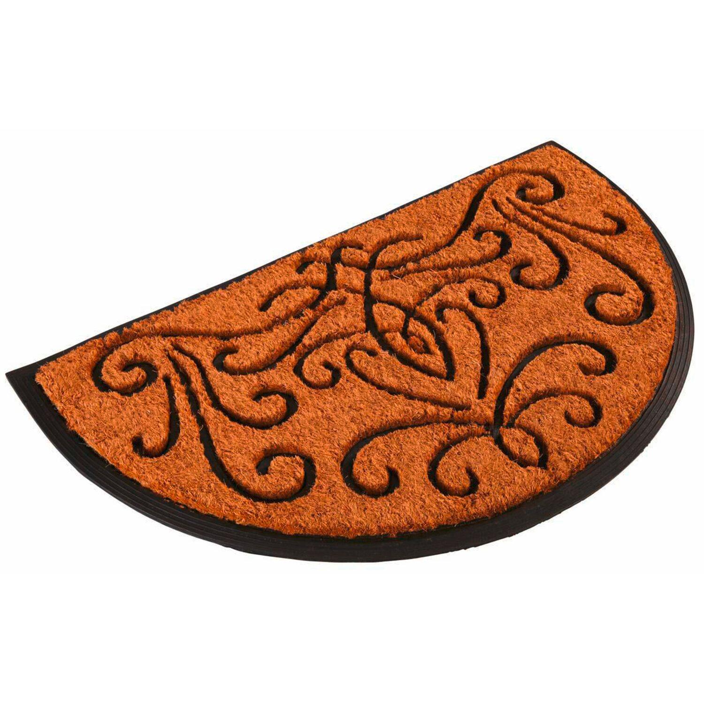 best of home kokosmatte ranken halbrund 50 cm x 80 cm kaufen bei obi. Black Bedroom Furniture Sets. Home Design Ideas