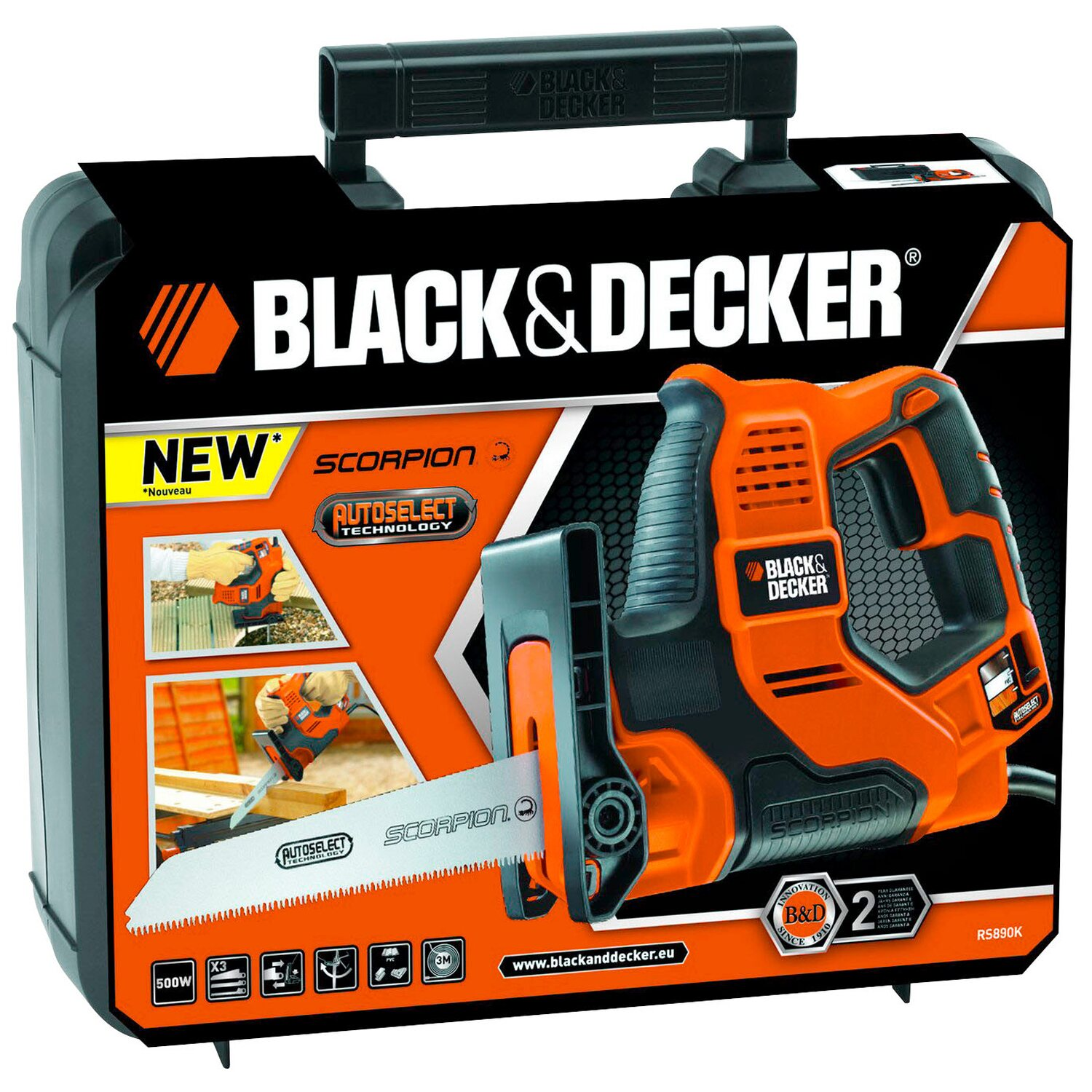 black decker universals ge rs890k kaufen bei obi. Black Bedroom Furniture Sets. Home Design Ideas
