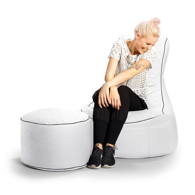 Sitting Point Sitzsack Swing Modo Tap 300 l Weiß kaufen bei OBI