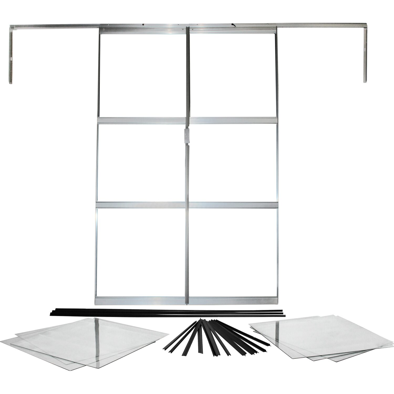 zusatzt r f r gew chshaus sirius alu blank kaufen bei obi. Black Bedroom Furniture Sets. Home Design Ideas