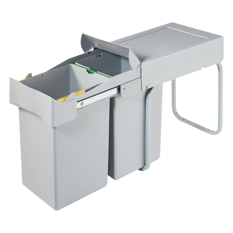 Favorit OBI Einbau-Mülleimer 2 x 14 l kaufen bei OBI GM84
